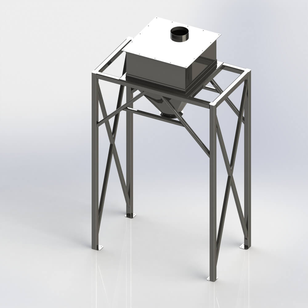 Bulk Bag Fill Hopper