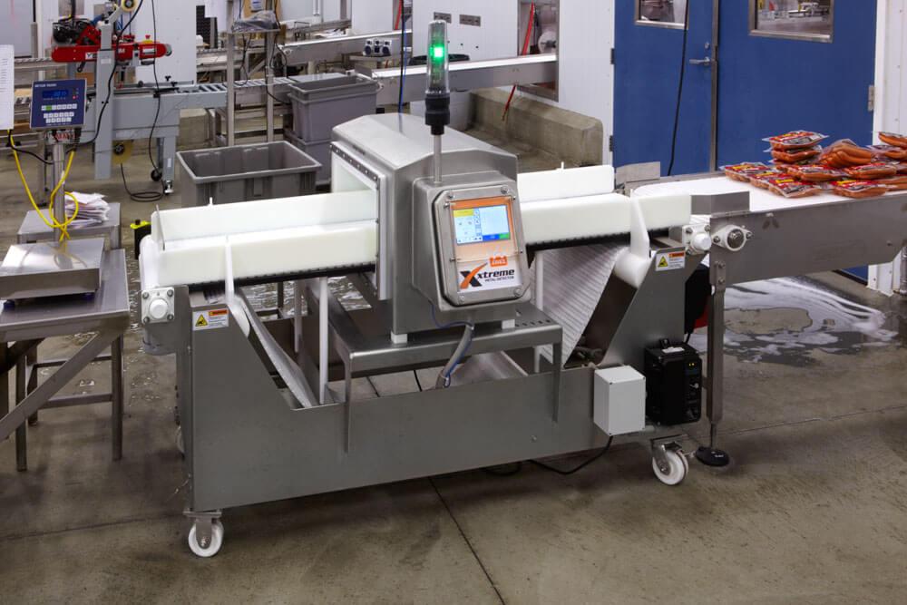 Ereiz Xtreme Metal Detector conveyor
