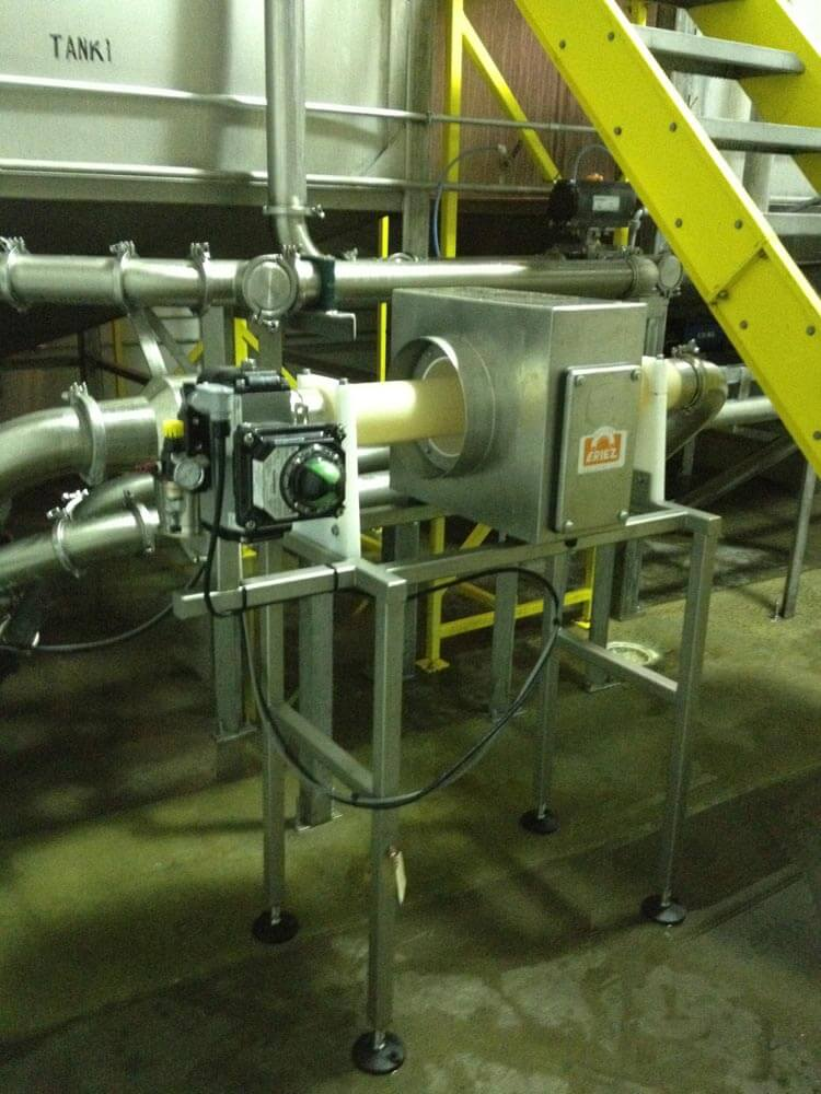 Eriez Liquid Line Metal Detector