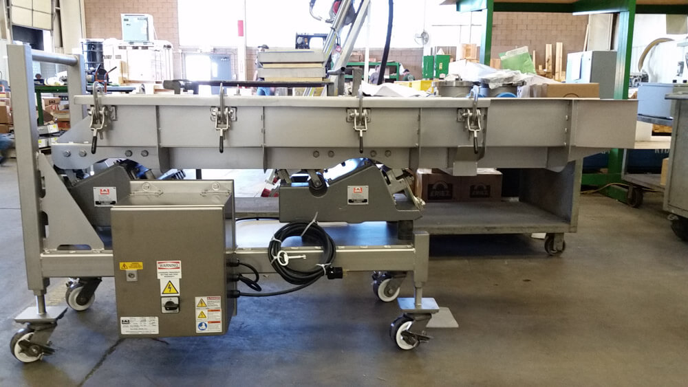 Eriez Portable Vibratory Conveyor