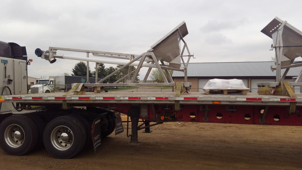 Portable Bag Dump with Flex Auger 170761