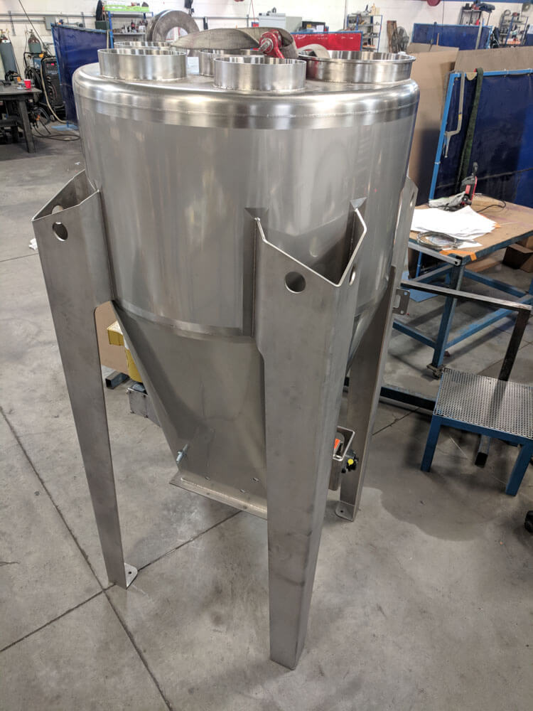 Stainless Hopper 170535