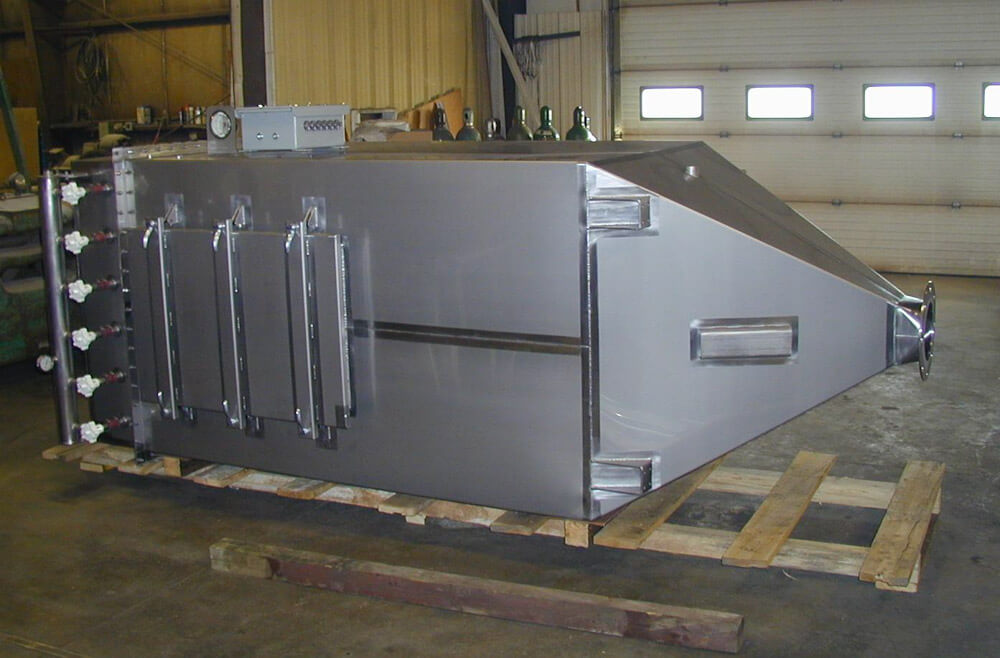 Stainless steel dust collector 020482