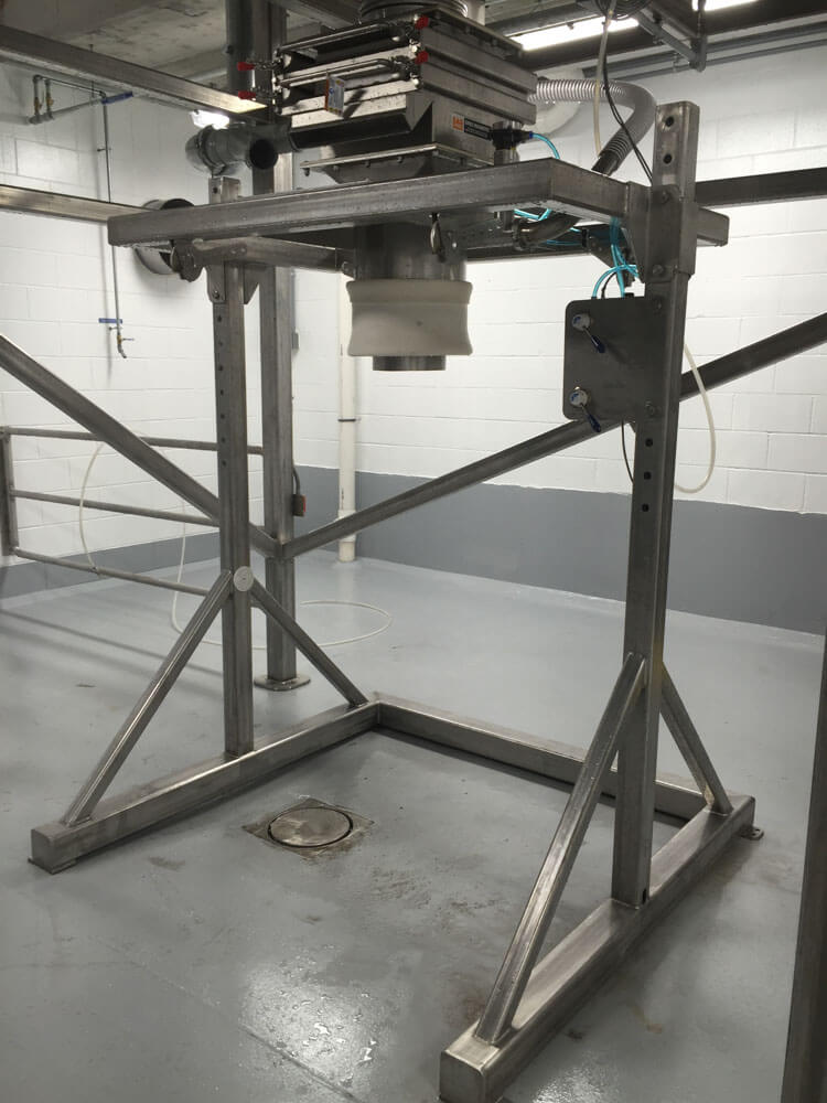 Bulk Bag Fill Station with Magnet 160172