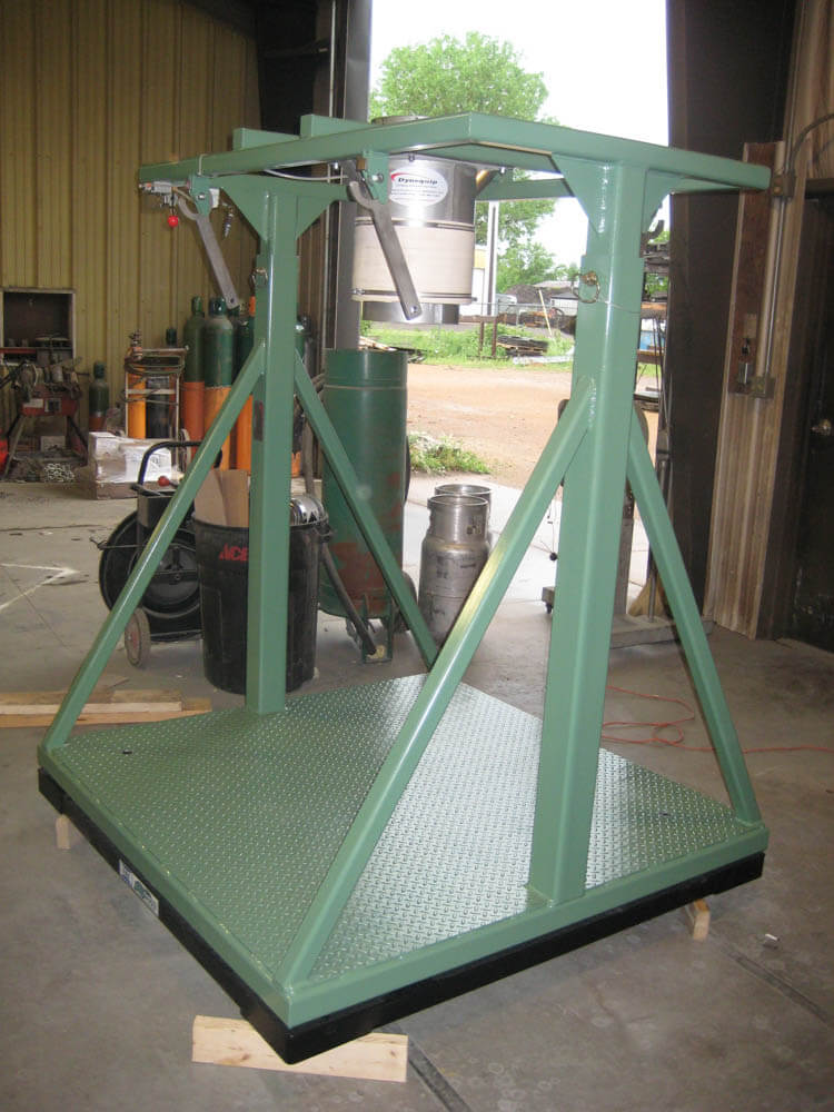 Bulk Bag Fill Station with scale