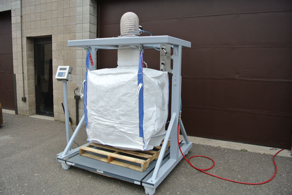 Bulk Bag Fill with Inflatable Seal 120500