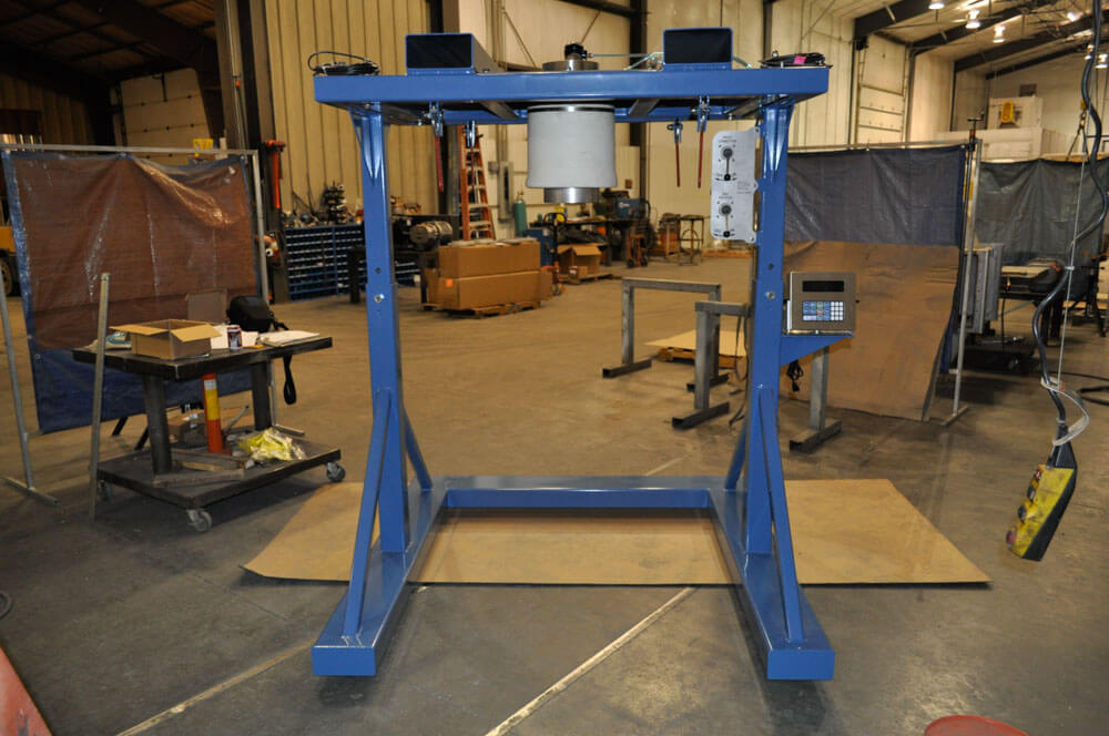 Bulk Bag Filler Suspended Weighing 120308