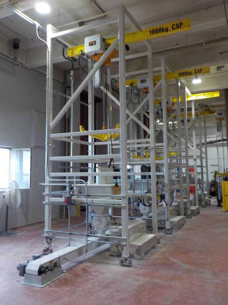 Bulk bag Unlaoder batching 170150