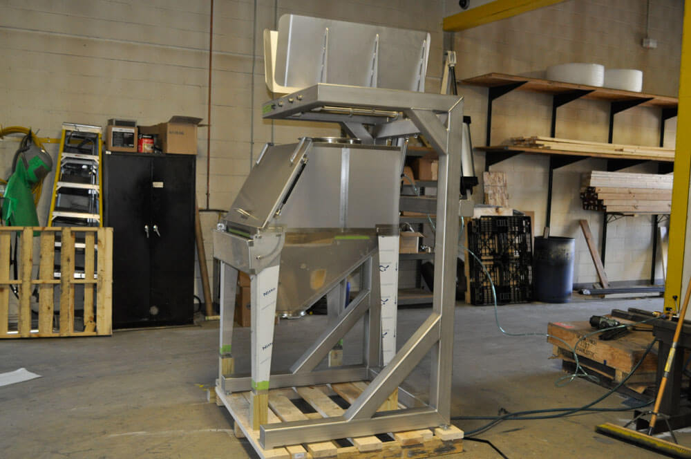 Bulk bag unload stainless steel USDA 140159