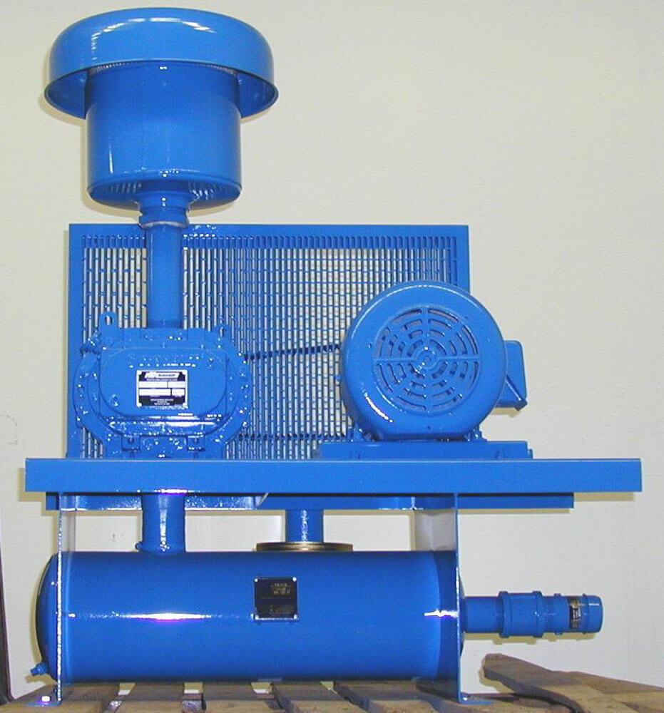 Pressure blower 1