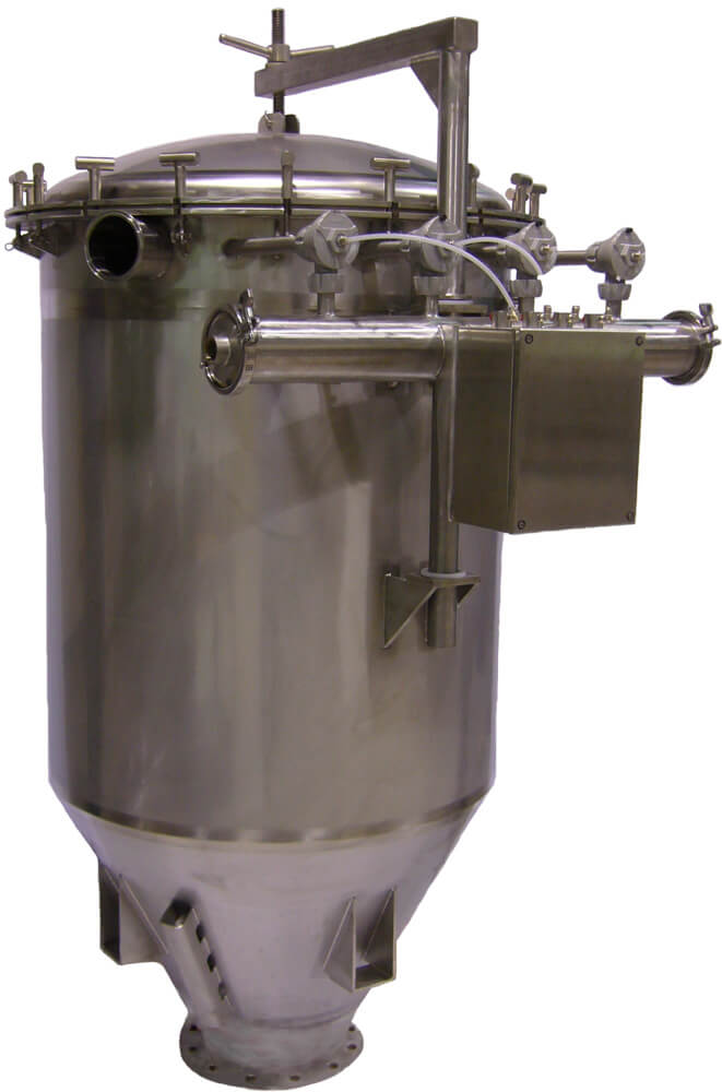 Sanitary Vacuum Filter Receiver